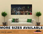 Wall Art Canvas Picture Print - New York City Skyline at Night 1 2.1