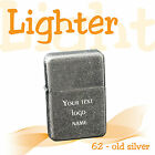 Personalised Windproof Petrol Lighter *** free engraved with custom text ** GIFT