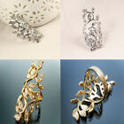 HOT-SELLING Jewelry for Women New Antique Gold Color Branch Shaped Rings