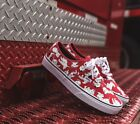 VANS CLASSIC X DISNEY 2015 AUTHENTIC 101 DALMATIANS RED 03Z3IOI **KIDS SIZES**