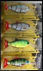 "Spro BBZ-1 4"" Swimbait Crank-N-Shad Bill Siemantel Wobbler 4 Designs Gamakatsu"