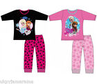 Teenage Girls Disney Frozen Long Leg Long Sleeve Pyjamas age 3 - 10 NEW