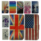 For samsung galaxy j5 sm-j500f Cell Phone PU Leather Case Cover W/ Card Wallet