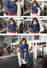 Couples  New Knit  Neckerchief Wrap Collar Shawl  10colors