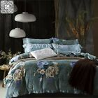 Peony Duvet Covers Queen King Bed New Long-Staple Cotton Doona/Quilt Covers Set