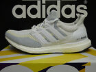 NEW ADIDAS Ultra Boost Women's Running Shoes - White/Clear Grey;  AF5142