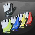 Merida Team Fingerless Cycling Gloves Half Finger Bicycle Bike Anti-slip Gloves