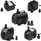 53-1323GPH Adjustable Submersible Water Pump Aquarium Pond Powerhead Hydroponic