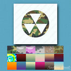 Fallout Shelter Symbol - Decal Sticker - Multiple Patterns & Sizes - ebn284