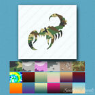 Scorpion Claws Sting - Vinyl Decal Sticker - Multiple Patterns & Sizes - ebn1076