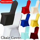 20X Chair Cover Covers Spandex Lycra Stretch Banquet Wedding Party White Black C