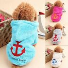 Dog Cat Coat Jacket Pet Clothes Winter Hooded Sweater Apparel Puppy Costume Hot