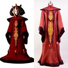 Star Wars Phantom Menace Queen Padme Amidala Halloween COSplay Costume Outfit $154.0 AUD