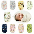 Soft Newborn Swaddle Wrap Warm Blanket Baby Infant Fleece Sleeping Bag 0-6Months