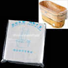 50 Pcs Disposable Tub Liners Bath Basin Bags for Spa