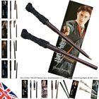 Harry Potter Wand Pen and Bookmark Gift Set Noble Collection Dumbledore Ginny