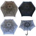 CLIFTON Umbrella -  Folding Floral Butterfly Lace Compact - Choose colour - BNWT