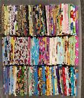 8 cotton Fat quarters Disney, cartoon, Nickelodeon, ,Nintendo, Marvel bundles