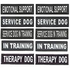 Vlcro Patch Tag Reflective Label Service Dog Harness Emotional Support 6 2 USA