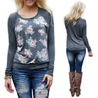 New Casual Women Long Sleeve T shirt Tops Blouse Sweater Pullover Sweatshirt C39