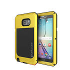 Note 5 Case, Punkcase® METALLIC Series NEON for Galaxy Note 5 W/ TEMPERED GLASS