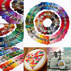 Lot 300 Multi Colors Cross Stitch Cotton Embroidery Thread Floss Sewing Skeins
