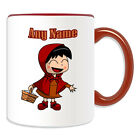 Personalised Gift Little Red Riding Hood Mug Money Box Cup Fairy Tale Ridinghood
