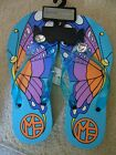 Marc Fisher Delia Jeweled Womens Flip Flops Sandals Blue New with Defects