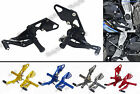 Adjustable Rearset Foot Rest Pegs Rear Set Fit 2013-2016 YAMAHA MT-07 FZ-07 RM04