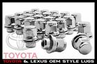 20 PC TOYOTA OEM FACTORY MAG LUG NUTS | 12X1.5 | ALSO FITS LEXUS MAG SEAT WHEELS