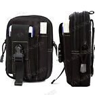 Military Army Style Sport Bag Case Belt Loop Hook Purse Pouch For Various Phones