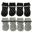 4pcs Anti Slip Dog Socks Non Skid Pet Paw Claw Protectors Sneakers Shoes Boots