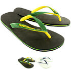 Mens Havaianas Brasil Mix Summer Flip Flops Sandal Slip On Flats UK Sizes 6-12