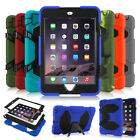 New Kids Shockproof Heavy Duty Rugged Hard Case Cover Stand For Ipad Mini 1/2/3