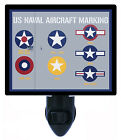 Night Light - US Naval Aircraft Marking - Military - Patriotic