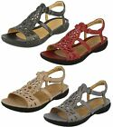 Clarks Unstructured Un Valencia Leather Casual Sandals D Fit