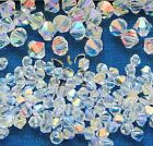 Swarovski® Crystal Bicone Beads #5328 CRYSTAL AB - Choose 72 PC or Factory Pack