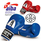 Greenhill Tiger Boxing Gloves AIBA Approved Competition Fight Cow Hide Leather