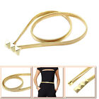 Womens Ladies Gold Belt Stretchy Girls Waist Metal Buckle Belts Fashion New 980