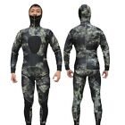 5MM Full Cover Wetsuit Spearfishing Tracksuit Scuba Diving Suit Neoprene Sports