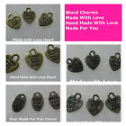 Made With Love Made For You Hand Made With Love Charms