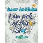 Swear Word Adult Colouring Book Flowers Mandalas Cats Dogs Humorous FAST POST