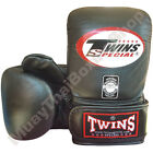 Twins Special Muay Thai Training Bag Gloves TBGL-3F Black Size M-L