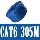 100M 305M Ethernet Network Lan Cable CAT6 10/100/1000Mbps Compatible!