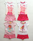 EMILY STRAWBERRY PEPPA PIG SHORTY / PYJAMA 2 - PIECE SIZE 98 -128