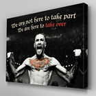 S568 Conor McGregor Here to Take Over UFC Quotes Canvas Art Framed Poster Print