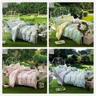 Florals Quilt Covers DOUBLE QUEEN Size Bed New 100%Cotton Duvet/Doona Cover Set