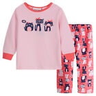 Pyjamas Girls Cotton Flannel (Sz 0-2) Pjs Set Pink Cats Sz 0 1 2