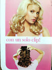 "Jessica Simpson & Ken Paves Hairdo  15"" Wavy Clip on hair Extencion segunda mano  Embacar hacia Argentina"