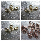 Lobster Clasp Gold Plated Copper Plated Jewelry Findings 12mm